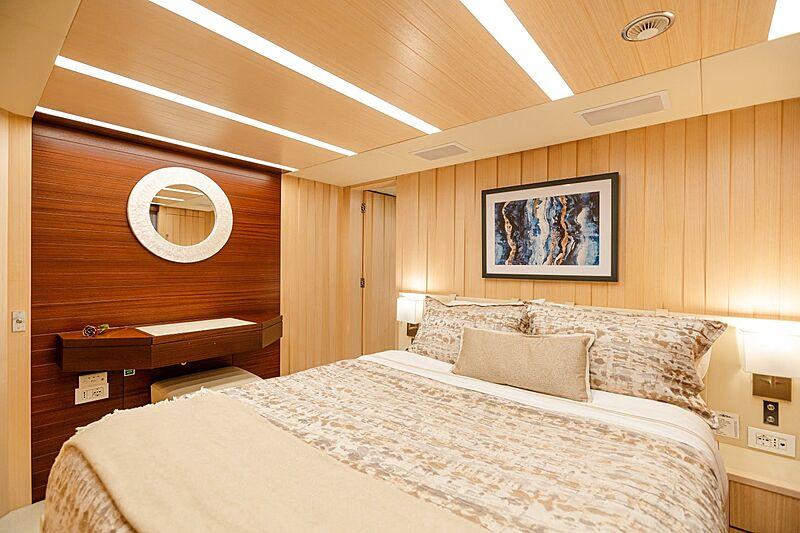Kelly Ann yacht stateroom
