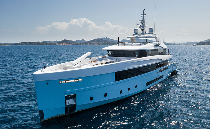 Crocus yacht by Admiral in Sardinia
