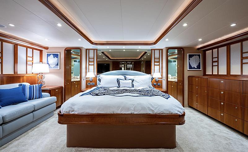 My Tammera yacht master stateroom
