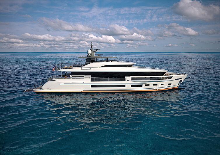 Heysea Asteria 116/2 yacht exterior design