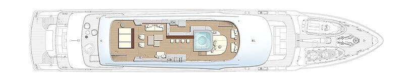 Project Apollo yacht general arrangement
