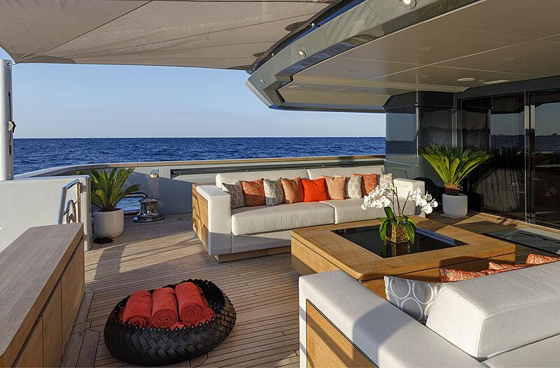 Atomic yacht upper deck