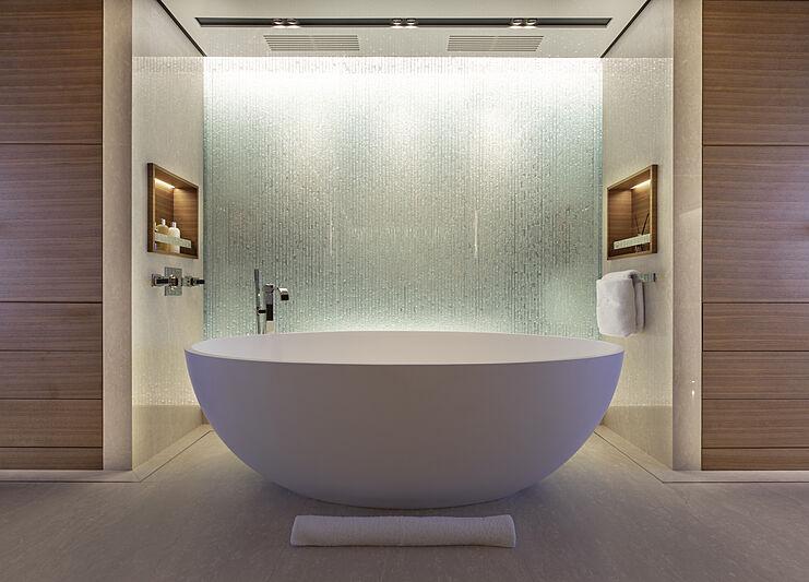 Atomic yacht bathroom