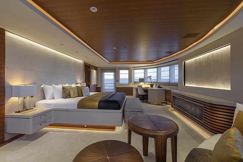 Atomic yacht saloon