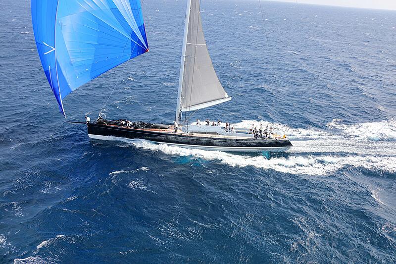 Magic Blue yacht sailing