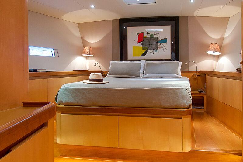 Magic Blue yacht stateroom