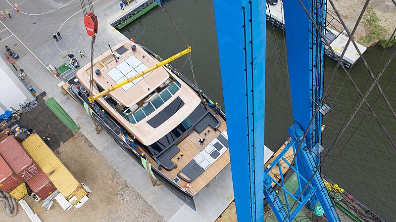 Sunreef 100/01 Power launch in Gdansk
