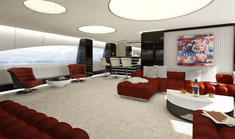Ocean Paradise interior design