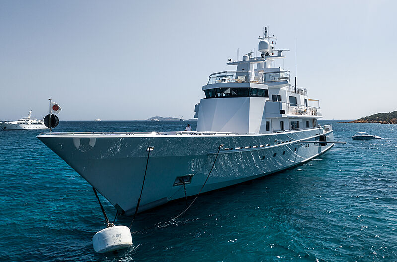 Ronin yacht by Lürssen in Cala di Volpe