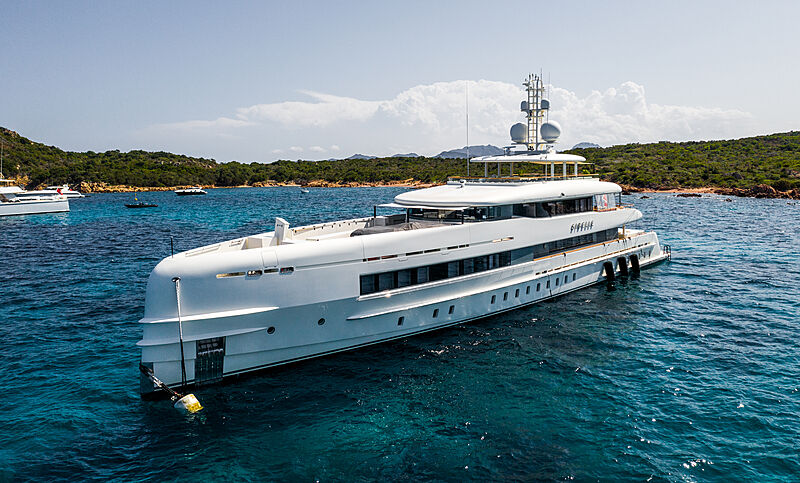 Sibelle yacht by Heesen in Cala di Volpe