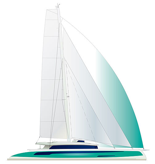 Wider-Pajot Eco Yacht 145 exterior