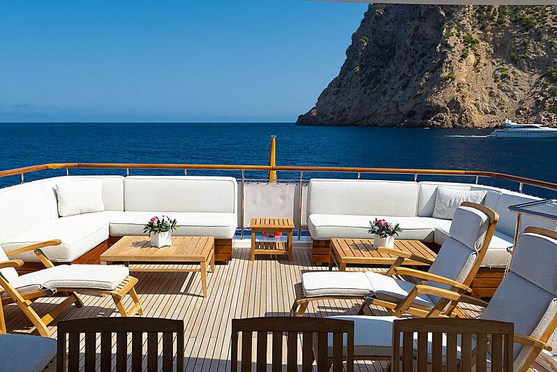 Christina yacht exterior