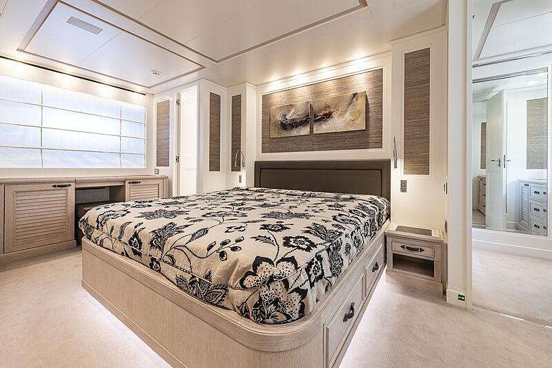 Christina yacht stateroom