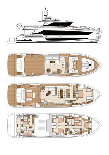 Tyee yacht general arrangement
