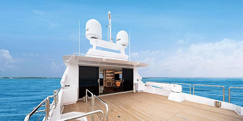 Tyee yacht deck