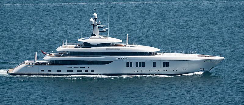 Lunasea yacht cruising in the San Diego Bay