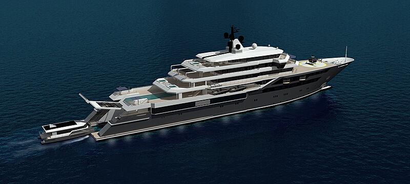 Cristiano Mariani Architect yacht concept
