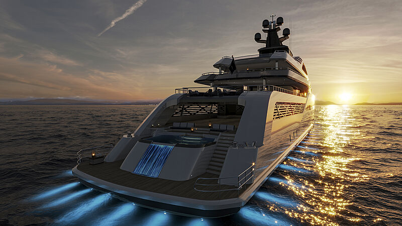 CD100 yacht concept from Cantu Design