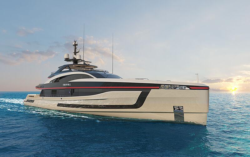 Project Skyfall Yacht exterior