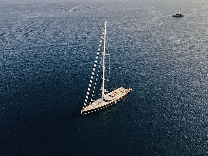 Prana yacht anchored in Antibes