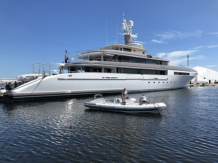 Eternity yacht post refit