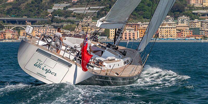 Elise Whisper yacht sailing