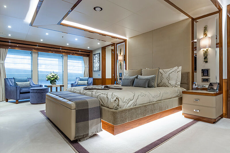 Princess AVK yacht master stateroom