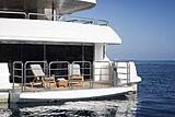 Princess AVK yacht swim platform