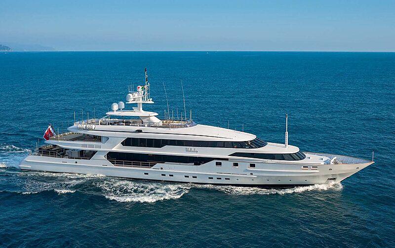 The Wellesley yacht cruising