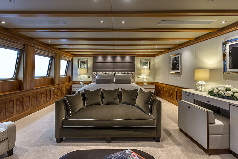 The Wellesley yacht owners suite