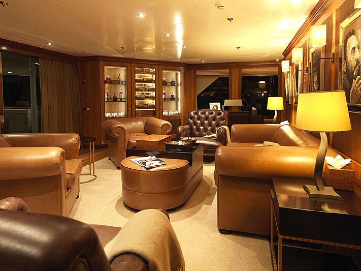 The Wellesley yacht cigar lounge