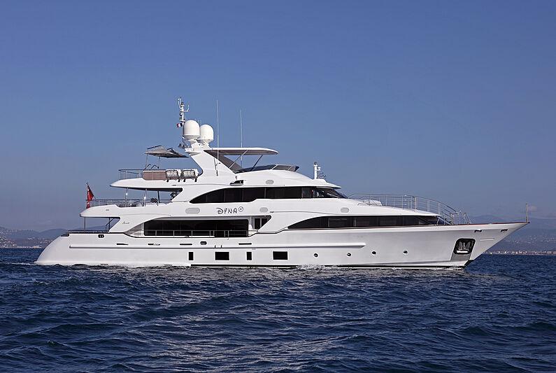 Dyna R yacht cruising