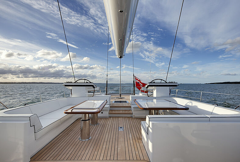 Imagine D yacht helm station
