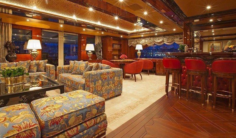 Ulysses upper deck saloon and bar