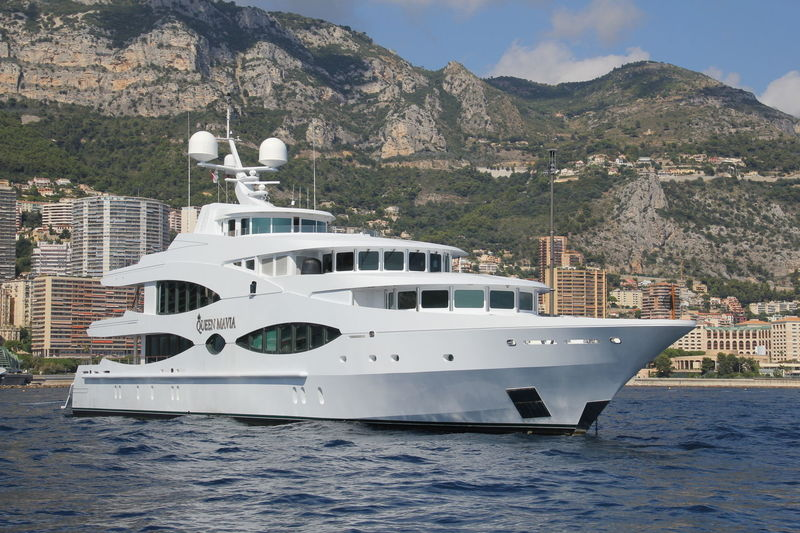 QUEEN MAVIA yacht Oceanco