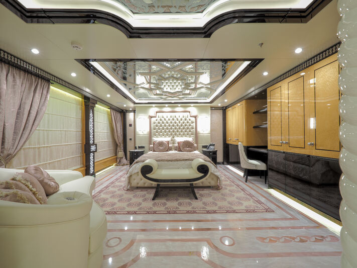 Elements yacht stateroom