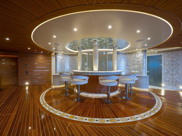 Elements yacht interior