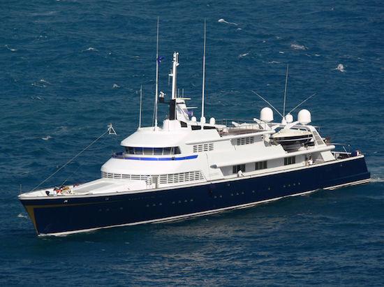 THE ONE yacht Lürssen