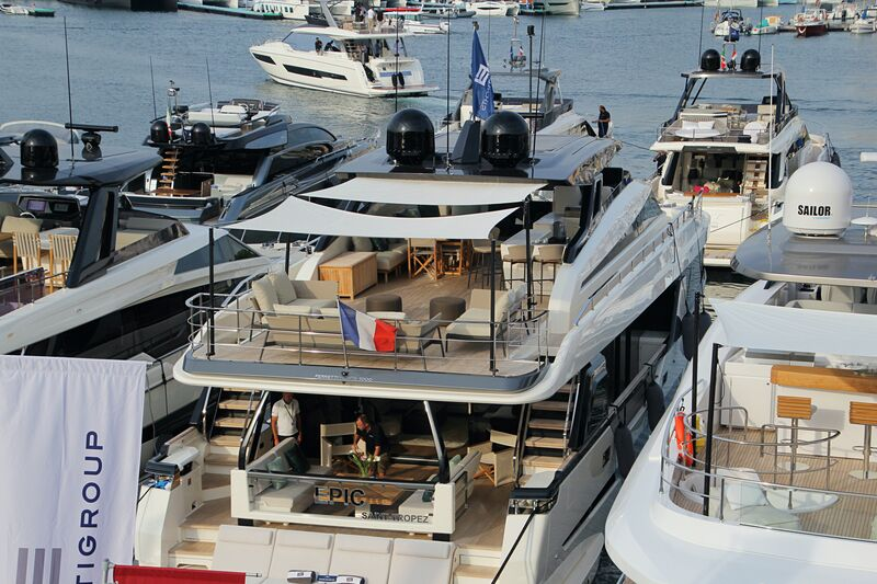Epic yacht in Cannes