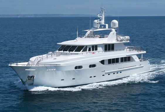 CHRISTINA G yacht Kingship Yacht