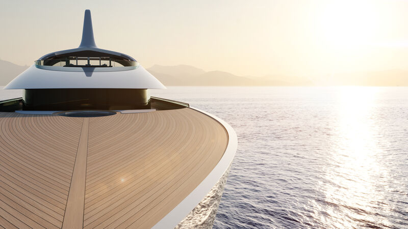 Feadship Future Concept yacht Pure exterior