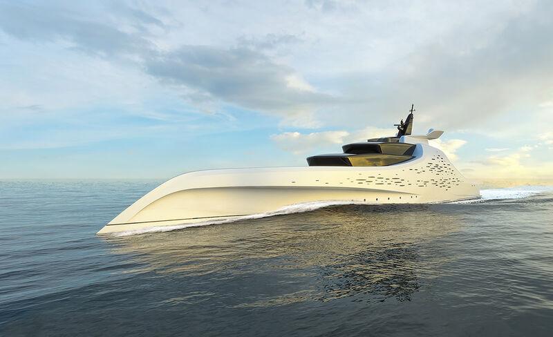 Meet ZeRO: The new 96m hydrogen-powered yacht concept by Sam Sorgiovanni
