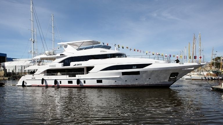 ORYX yacht Benetti