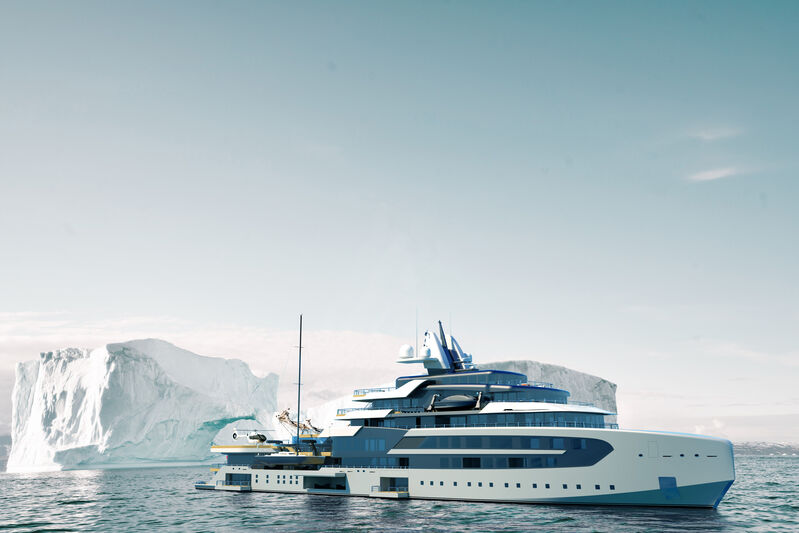 Superyacht concept APEX