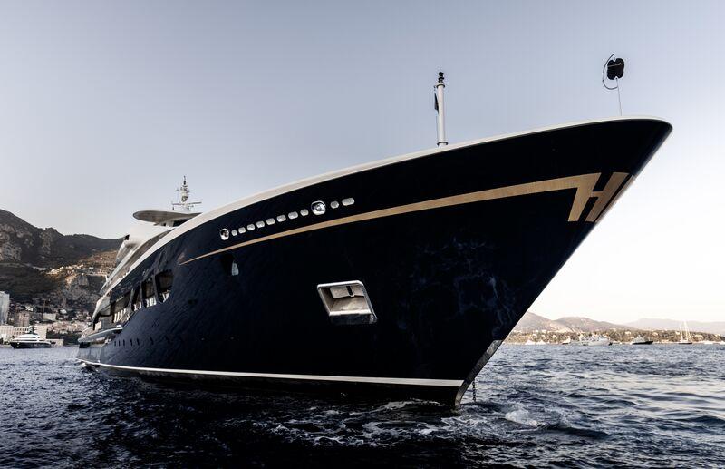 Carinthia VII yacht by Lürssen in Monaco