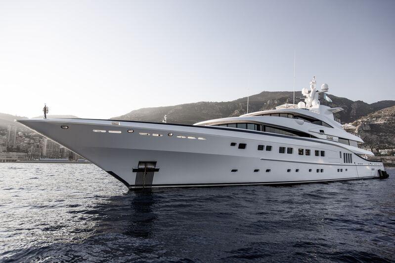Secret yacht by Abeking & Rasmussen in Monaco