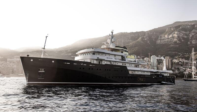 Yersin yacht in Monaco