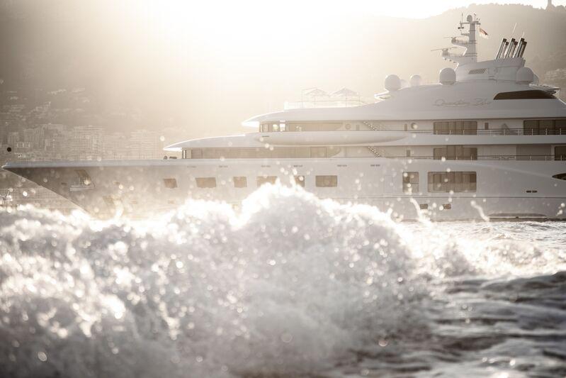 Quantum Blue yacht by Lürssen in Monaco