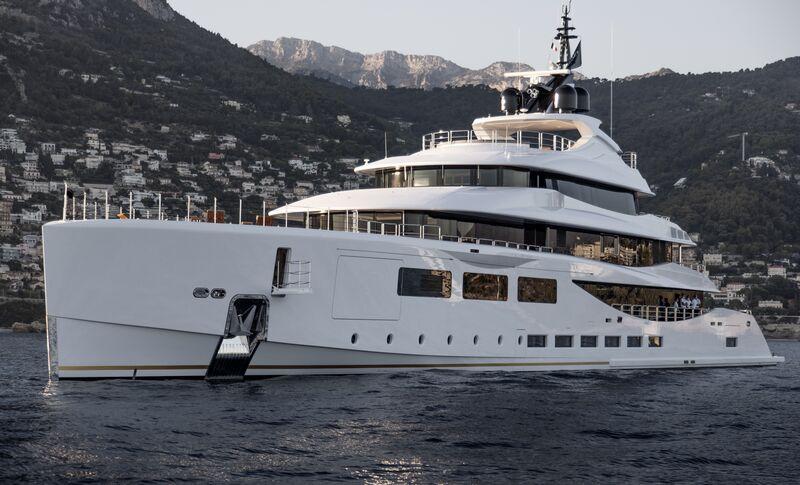 Alfa yacht by Benetti in Monaco