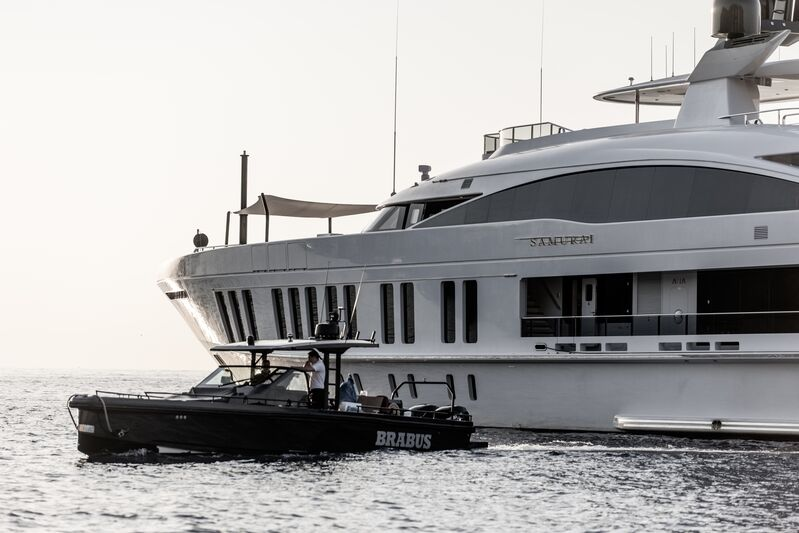 Samurai yacht by Alia Yachts in Monaco